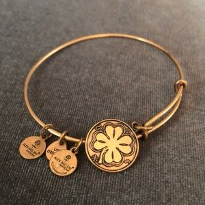 Golden Shamrock Alex and Ani Bracelet